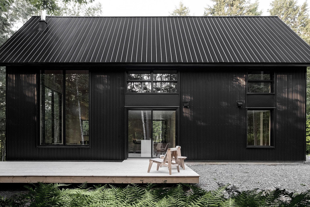 All black architectural designs that will inspire you to adapt this modern minimal trend