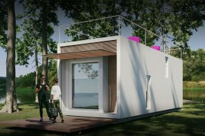 Our favorite tiny prefab home made 99% offsite & set to redefine affordable + sustainable construction has unveiled new information!