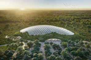 The World's Largest Single-Domed Greenhouse Pushes The Boundaries Of Innovative Architecture
