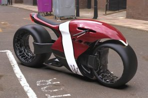 This Maserati electric concept bike is a mashup of The Alien and stylized Tron DNA!