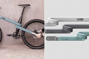 A looped bicycle + more designs to help you embrace an eco-friendly, healthy lifestyle!
