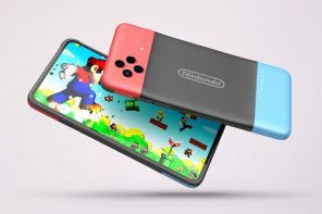 Nintendo Gaming Smartphone concept images make the rounds with a very interesting camera detail!