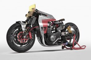 Modified Yamaha XS 650 concept ditches the Cafe Racer's classic appeal for a modern, punkish design