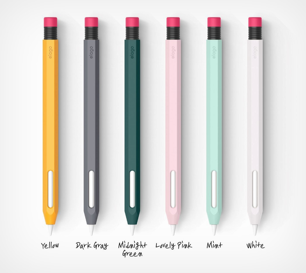 elago's Apple Pencil protective case turns your stylus into a nostalgic rubber-tip graphite pencil