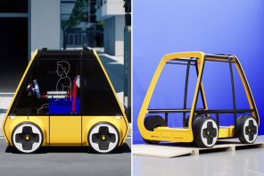 This IKEA + Renault concept envisions a sustainable future where vehicles are shipped as flat-pack designs!