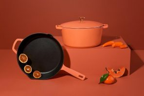 This vibrant set of enameled cast-iron cookware is what Pinterest dreams are made of