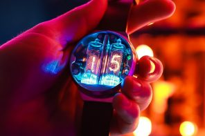 Authentic, rare nixie tube watch is the most cyberpunk object you can wear on wrist