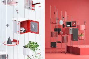 This adaptable furniture system uses modular design to let you customize your storage and aesthetic