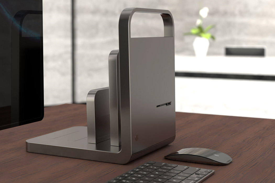 This Apple Mac Pro with modular hardware + minimal aesthetics matches Steve Job's philosophy!