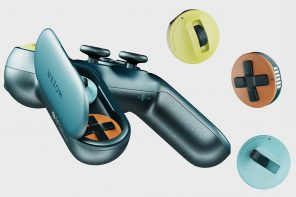 The swappable directional pads of this gaming controller are designed to give you tactical gameplay advantage!