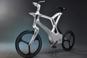 This ebike for future metropolis is designed with a frame inspired by the human bone structure!