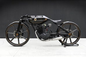 The ABC 500 motorcycle is an absolute masterclass in minimal automotive design