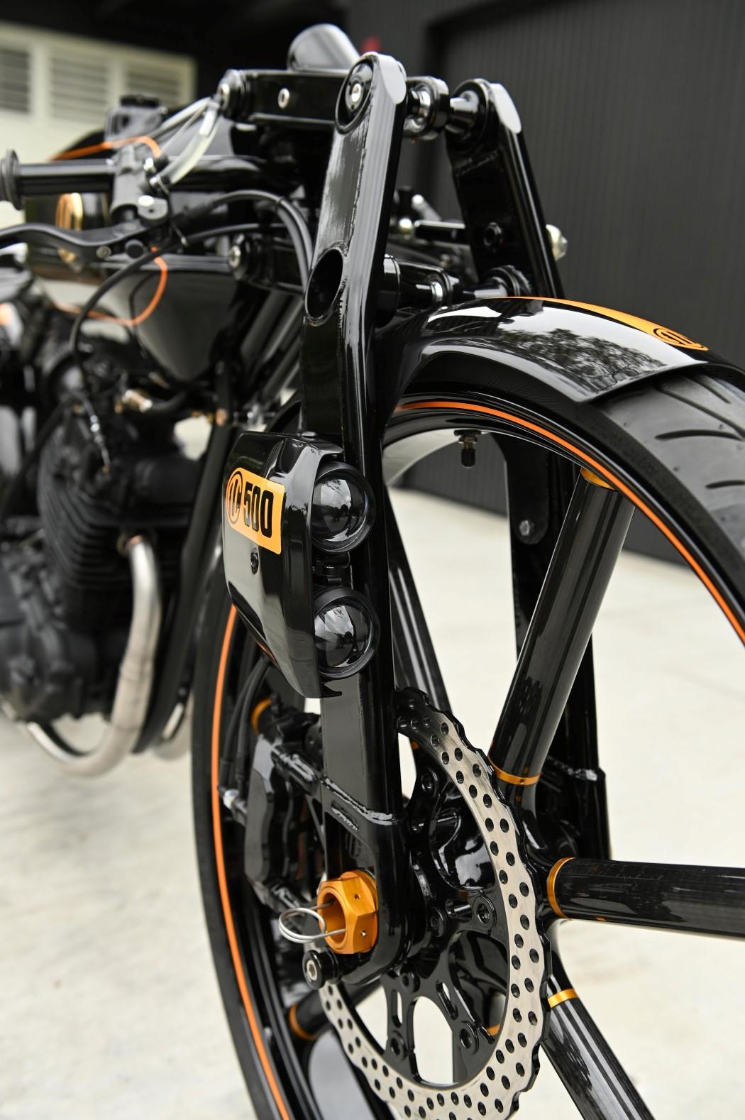 ABC 500 Motorcycle Minimal Design Niki Smart