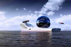 This $700 million superyacht is a climate-research vessel that runs entirely on nuclear power