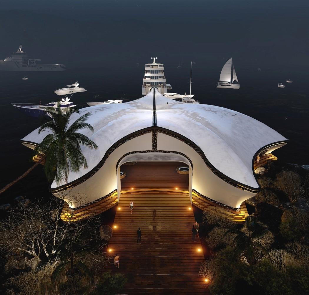 Luxury Yacht Club Manta Ray