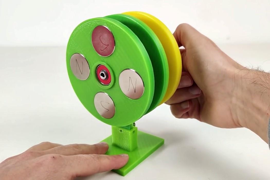 DIY Magnetic Gears Video