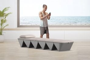 Yves Behar designs a foldable bed that uses sound and vibration to help you meditate and recharge