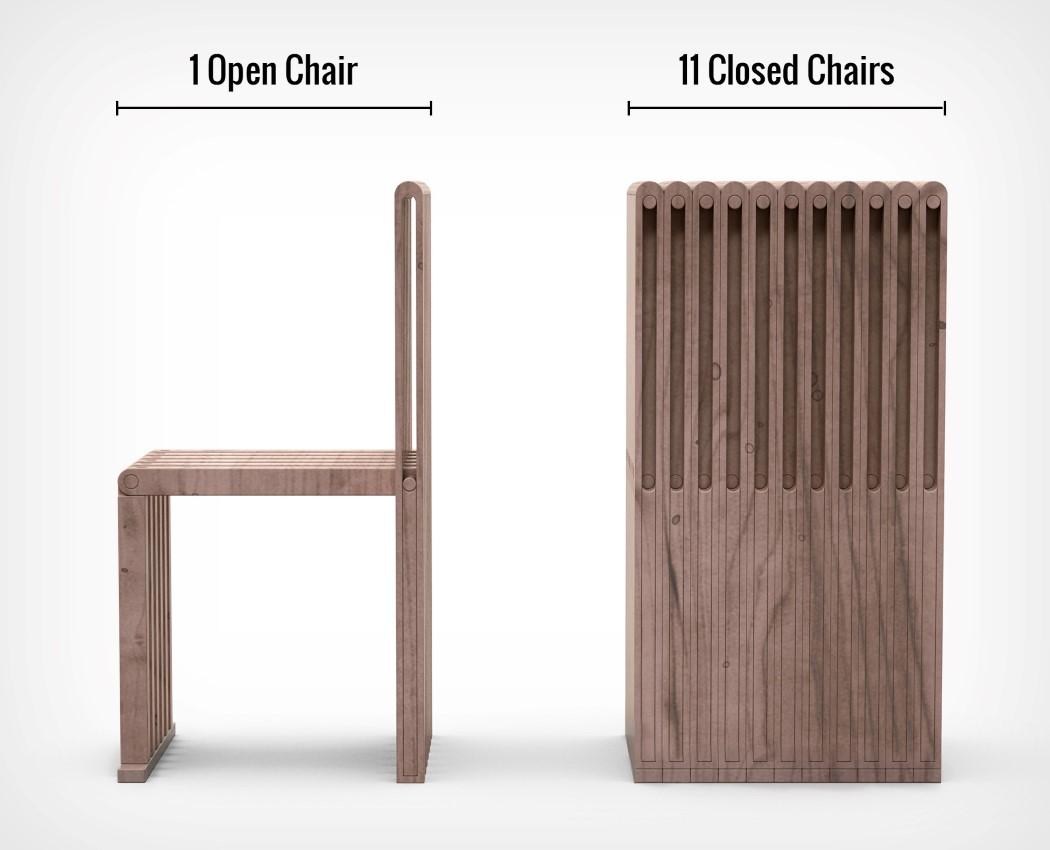 Pad Folding Chair Shaohan Yang