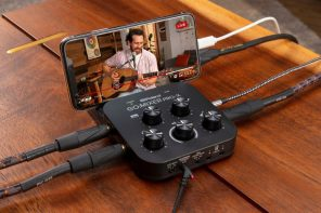 Roland's new mobile mixer aims at turning your smartphone into a full-fledged recording and production studio