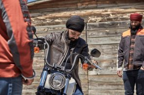 The 'Tough Turban' uses a fabric 15x stronger than steel, to empower Sikh motorcyclists to ride safer