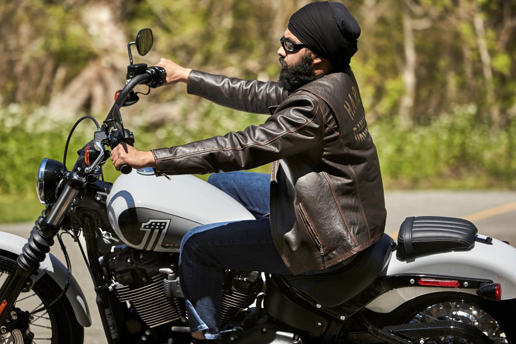 Tough Turban - Protective Cultural Headgear for Sikh Canadian Motorcyclists by Pfaff Harley-Davidson