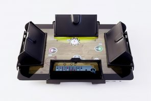 Genius plastic covers let you play a game of poker on your iPad while concealing your cards
