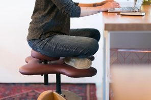 IKEA-worthy ergonomic chairs designed to support your back + help you maintain a better posture!