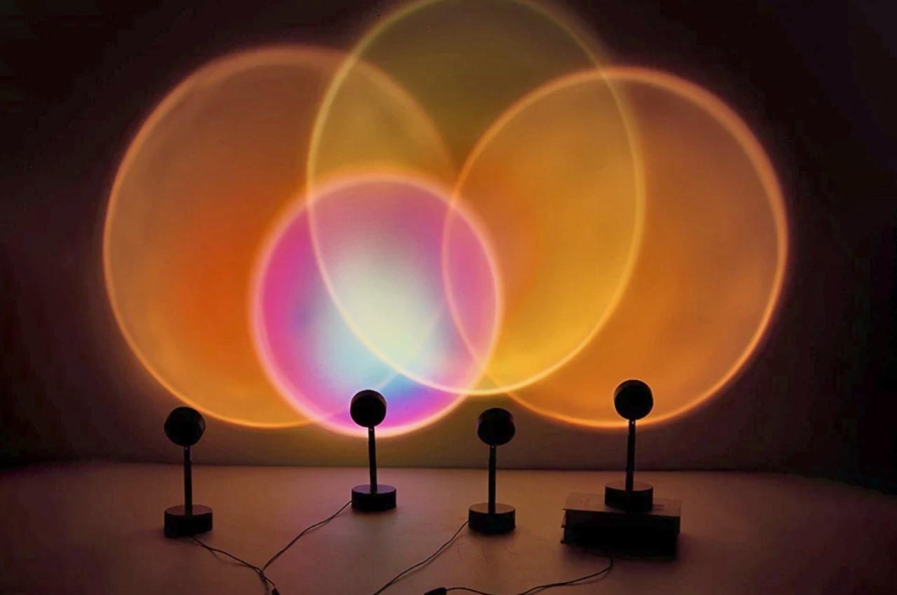 How the TikTok Viral Sunset Lamp works