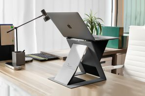 Sleek Laptop Stands that eliminate bad posture, while amplifying your work experience + productivity!