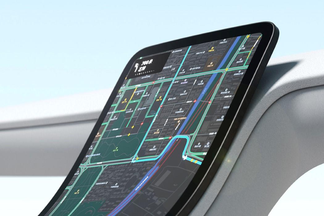 Royole Flexible Display Car Dashboard