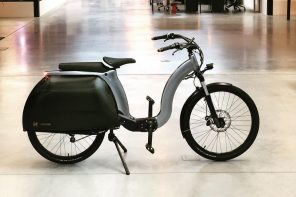This nostalgic yet luxurious self-leveling electric bike is available for sale!