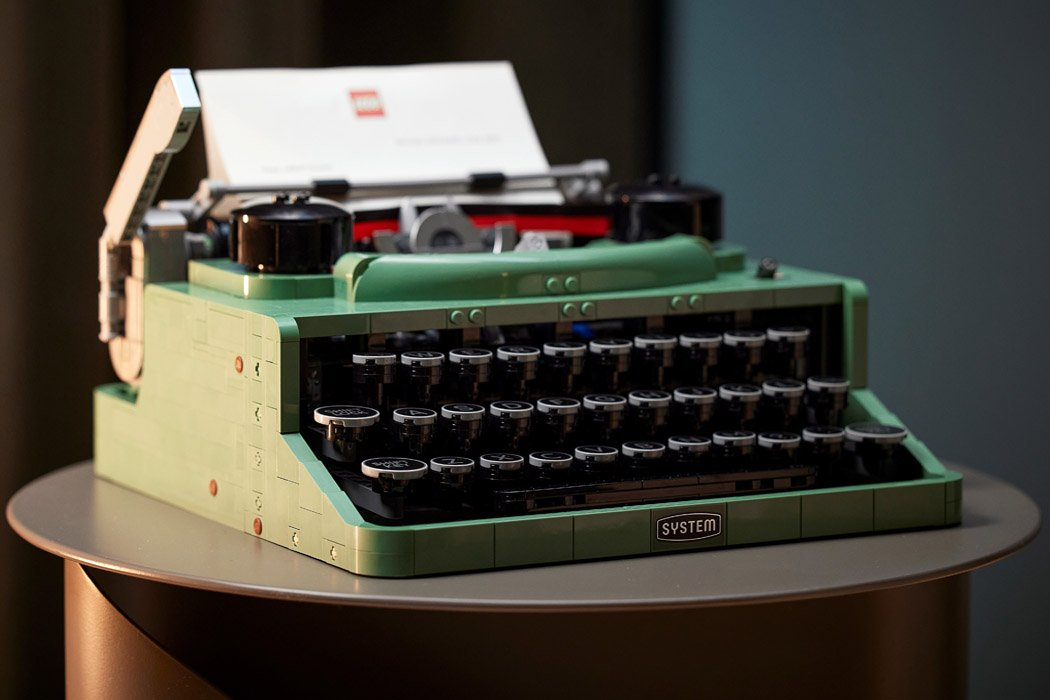 LEGO goes nostalgic with this functional vintage Typewriter that is actually available for sale!