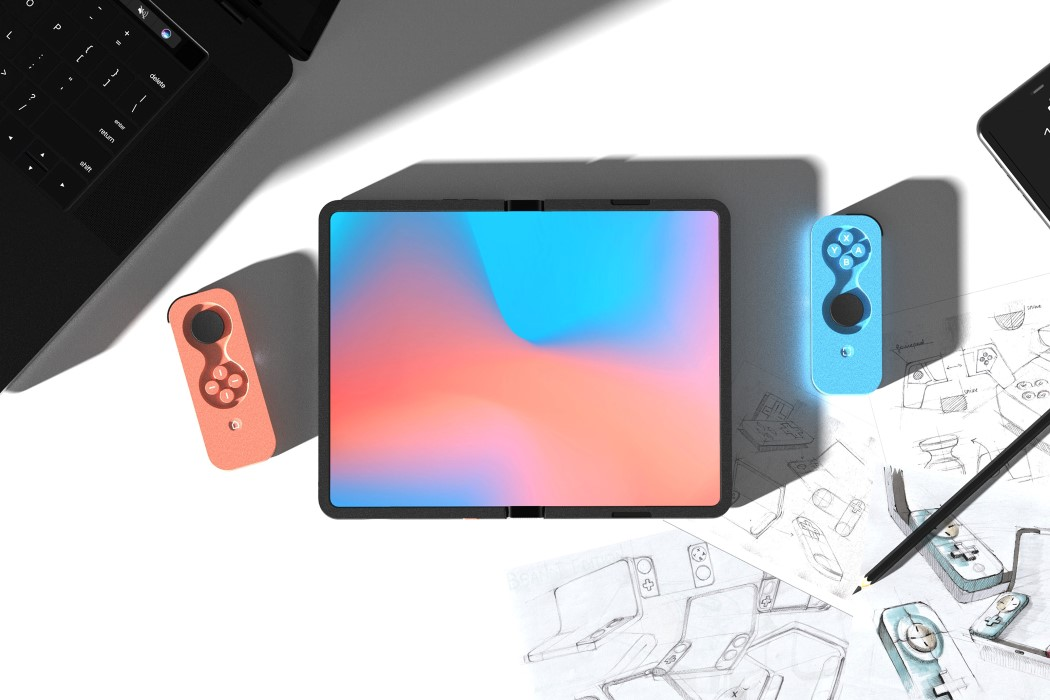 Nintendo Switch 2 Foldable Android Gaming Tablet