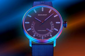 This self-charging smartwatch turns your wrist's motions into an endless supply of power