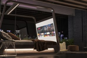Futuristic Television Designs that are a far cry from the boxy home appliances we are so used to!