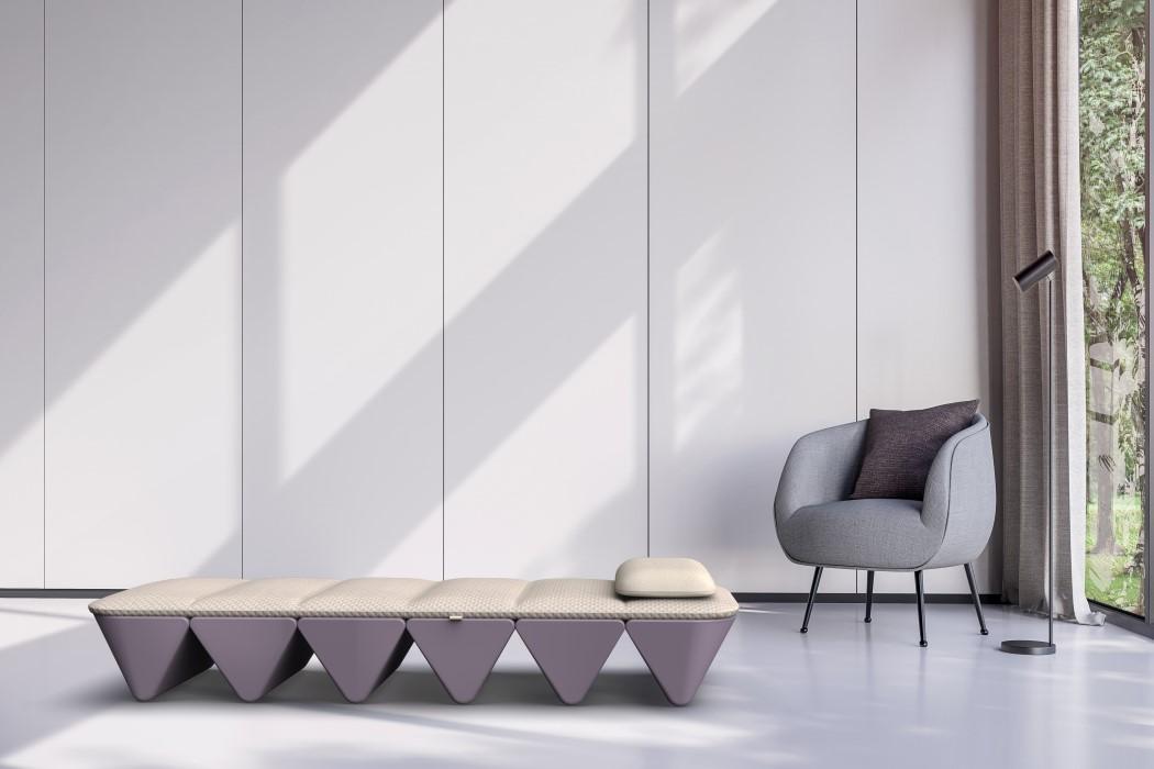Yves Behar Fuseproject Opus Soundbed Folding Meditative Bed