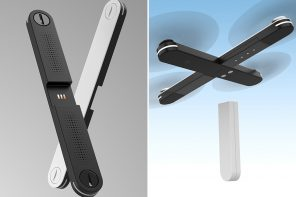 This sleek drone fits in your pocket and transforms uses its magnetic modular design!