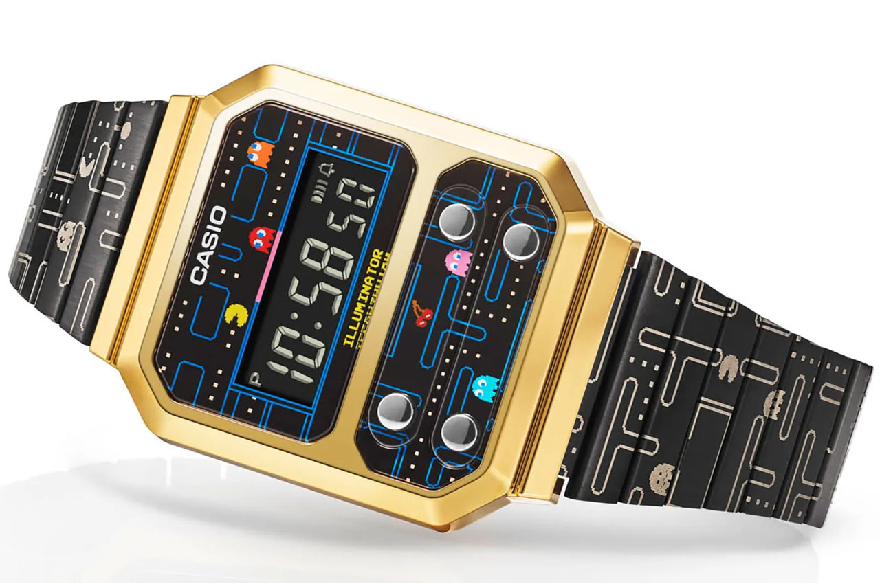 Casio's vintage Pac-Man edition watch is just quirky enough to be a great  memorabilia! | Yanko Design