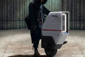 This self-balancing Honda electric scooter redefines futuristic urban commuting