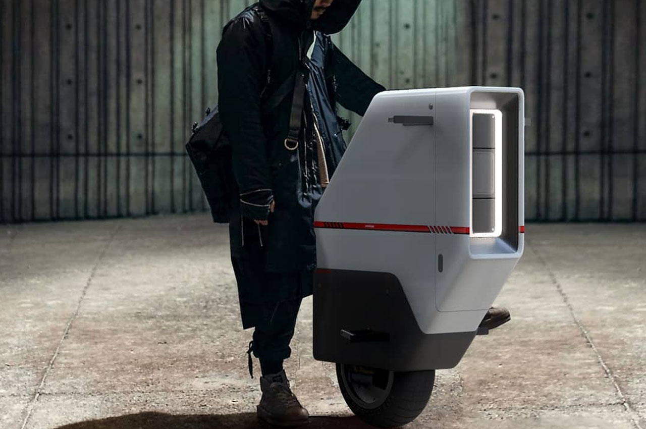 Monowheel commuters have gained traction lately, and I personally just love the idea. That is if they are equipped with the self-balancing tech, other
