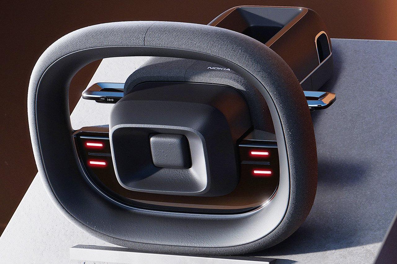 This Nokia steering Wheel revives nostalgic memories of 5300 ExpressMusic phone!