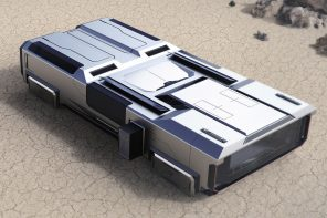 This Tesla-inspired Module Rescue is a futuristic mobile health camp and rescue machine for disaster relief