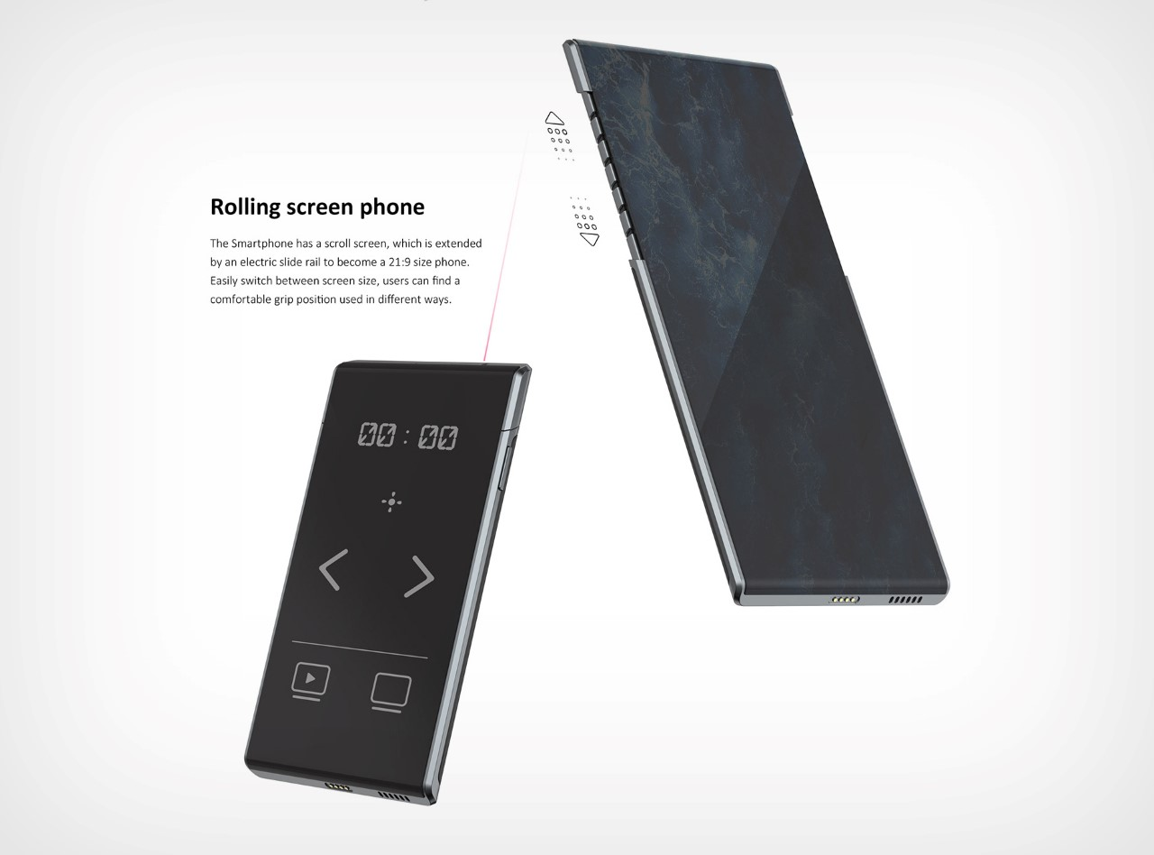 AIO Phone-Book with Detachable Smartphone Trackpad