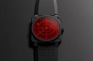 Bell & Ross's aircraft radar-inspired timepiece will make you look like an international Bond villain!