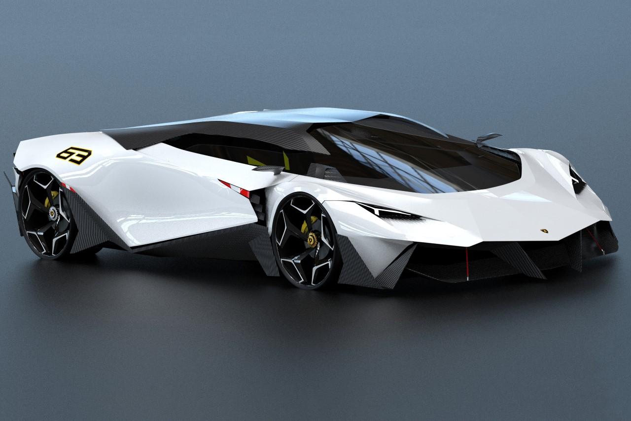 Lamborghini Massacre Concept by Krishnakanta Saikhom
