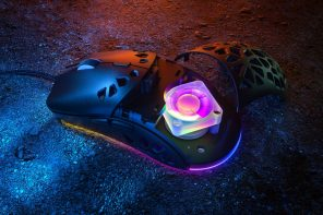 Endless hours of gaming? The Zephyr Pro mouse comes with its own inbuilt fan to keep your palms cool