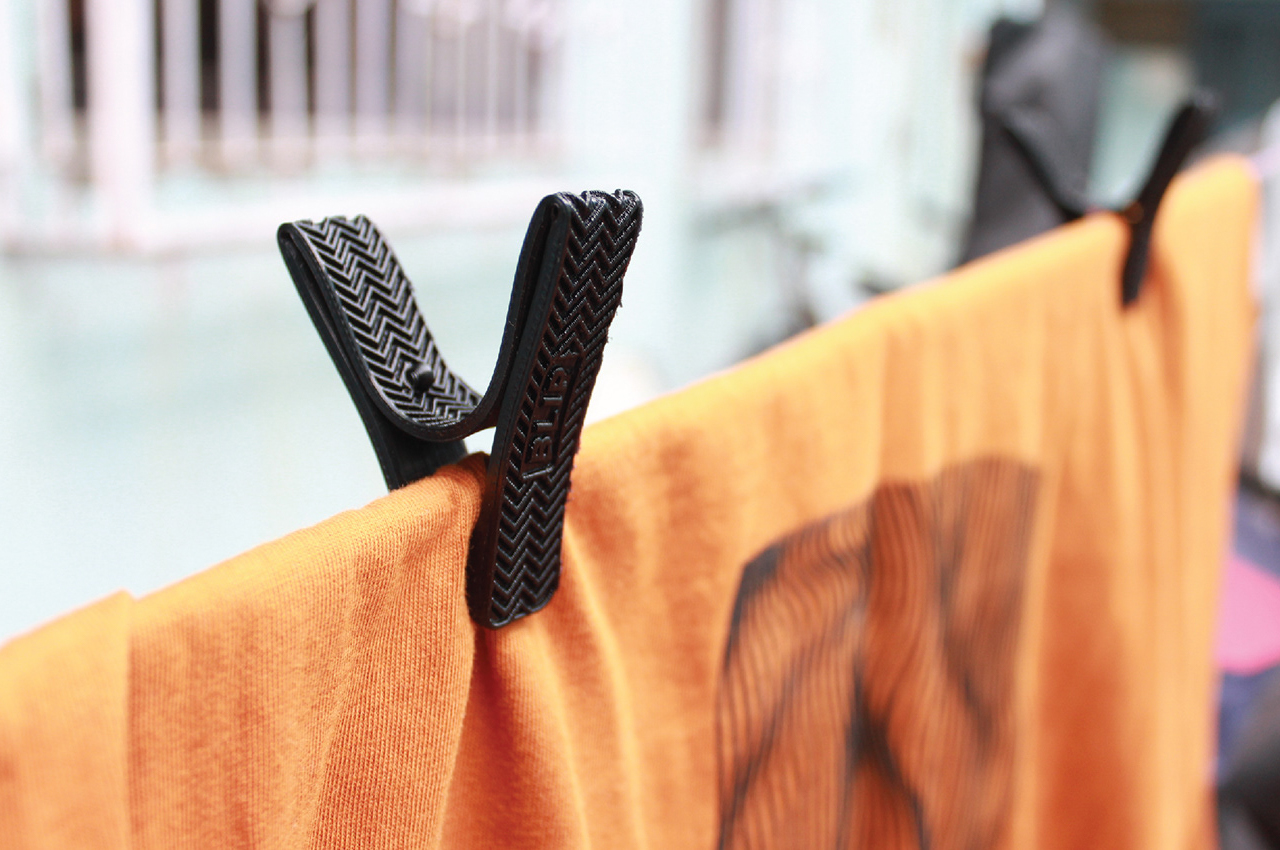 This sustainably designed clothing peg can reduce plastic waste!