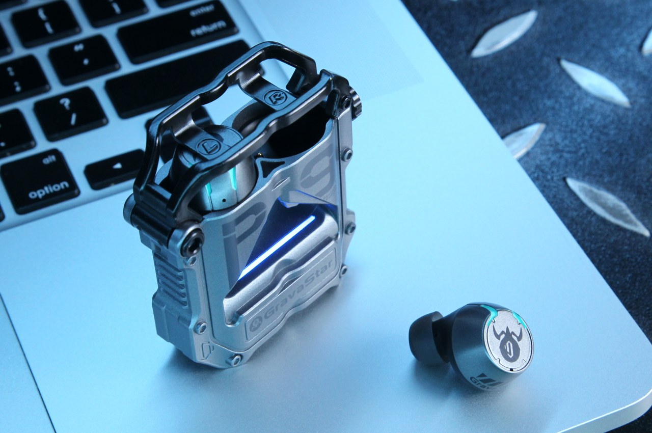 With its absurdly cool sci-fi-inspired design, the GravaStar Sirius Pro may be the sexiest TWS Earbuds ever made