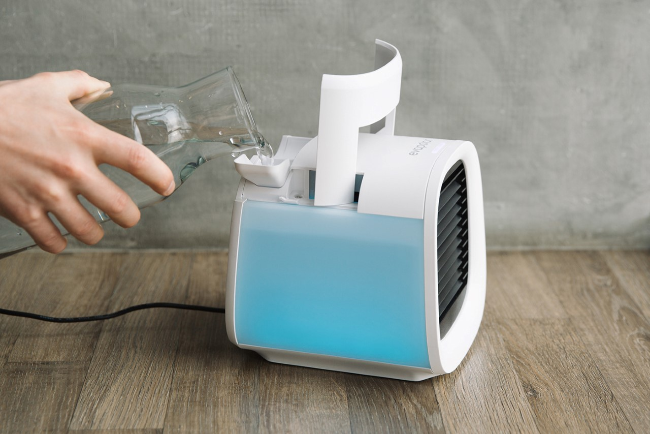 EvaCHILL - Portable Personal Air Cooler Humidifier & Purifier