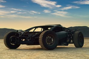 This off-road Lamborghini Huracan looks like an absolutely bonkers concept right out of Mad max